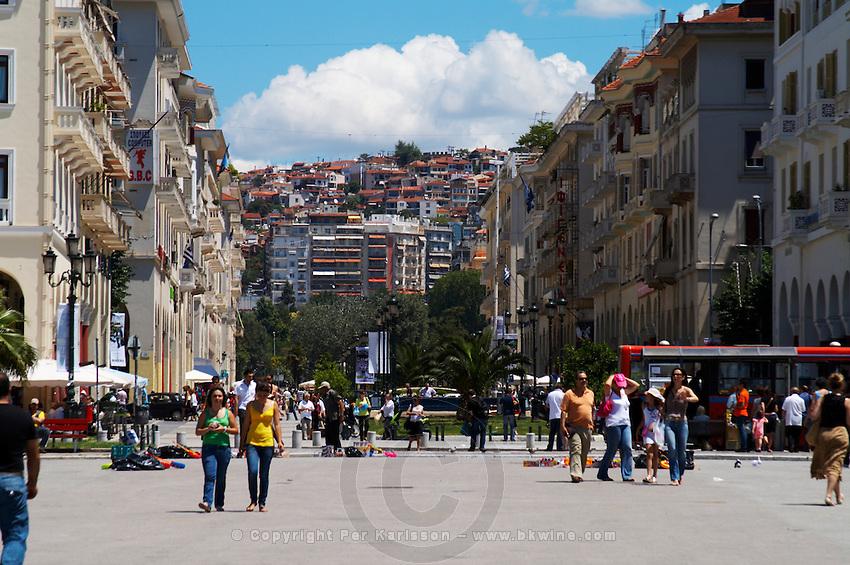 Aristotelous Aristotle Square. Thessaloniki, Macedonia, Greece
