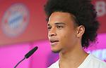 23.07.2020, nph001 Fussball 1.Bundesliga, FC Bayern Muenchen - Neuvorstellung Leroy Sane emspor (Leroy Aziz San) <br /> <br /> <br /> <br />  im Bild<br /> <br /> Leroy Sane <br /> <br /> Foto: FC Bayern Muenchen/Pool/ via nordphoto