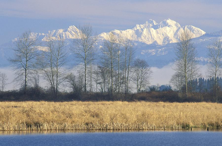 Shadow Lake and Three Fingers Mountain, Snohomish, Washington
