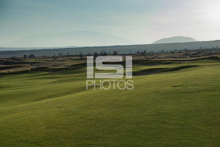 Kailua Kona, HI - October 24, 2016: The Stanford Cardinal  compete at the PAC 12 Preview at Nanea Golf Club.