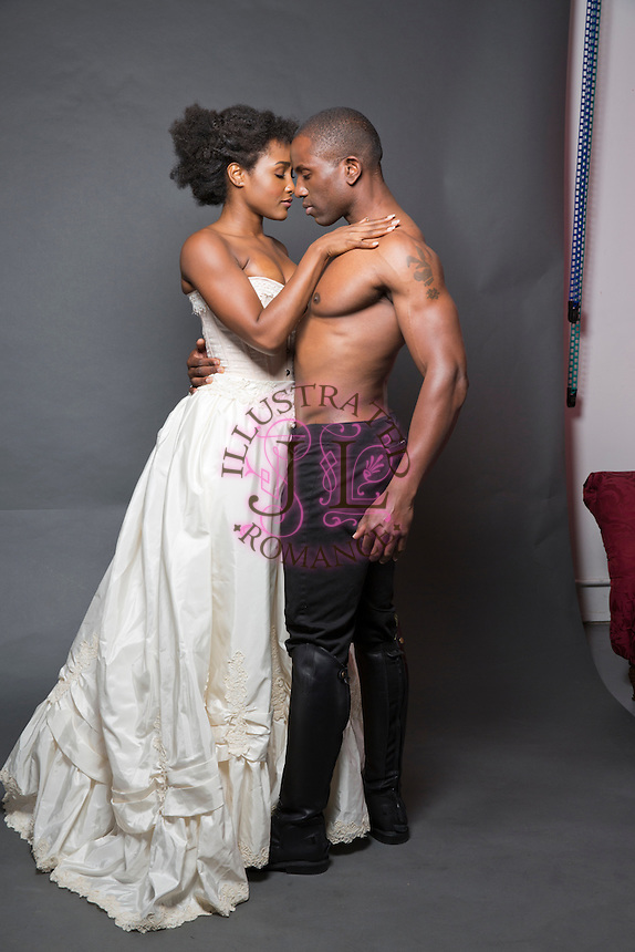 Historical Themed Black Couple Stock Images For Romance
