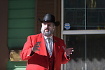 Elvis Thompson participates in the Carson City Ghost Walk on the historical west side of the city Saturday, Oct. 21, 2017.<br /> Photo by Candice Nyando/Nevada Momentum