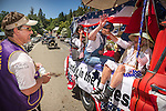 Independence Day celebration Main Street, Mokelumne Hill, California..Terry Wetherby