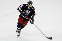 11 January 2006: Columbus Blue Jackets' Ron Hainsey plays against the Pittsburgh Penguins at Nationwide Arena in Columbus, Ohio.<br />