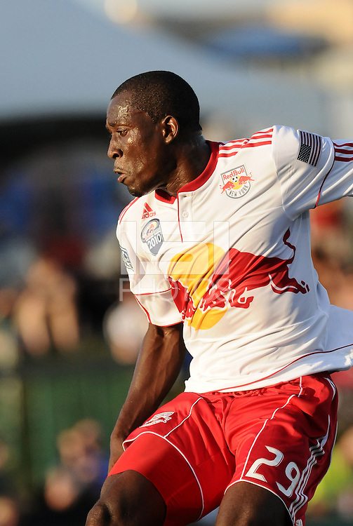 Salou Ibrahim...Kansas City Wizards were defeated 3-0 by New York Red Bulls at Community America Ballpark, Kansas City, Kansas.
