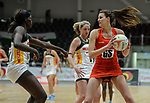Netball - Wales v South Africa - 2019 Summer tests - International friendly - Viola arena - Thursday 4th July  2019 - Cardiff<br /> <br /> © www.sportingwales.com- PLEASE CREDIT IAN COOK