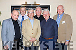Kerry teachers who met with their old friends from the class of 1967 of St Patricks training College Dublin in the Plaza Hotel Killarney on Thursday night were l-r: Padraig Mac Fheanlan, Jim Fogarty Ballinskelligs Donal O'Liongsing Dingle, Joe O'Toole Dingle, Leo McCarthy Beara and Mick O'Callaghan Tralee