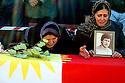 Iraq 2008.In Dukan, women with portraits of their relatives , victims of Anfal   Irak 2008. Femmes avec des portraits de leur proche disparu pendant la campagne de l'Anfal