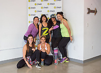 Adely Rodriguez, Joy Taniguchi, Gena Kim, Martha Rojas, Soraya Maman and Veronica Ferrante attend Zumba and Yoga at LA Mother on May 10, 2016 (Photo by Inae Bloom/Guest of a Guest)