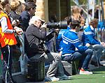 AMSTELVEEN - Hockey hoofdklasse dames Hurley-Pinoke (0-0). Pinoke degradeert.  fotograaf Kees Boelhouwer.   COPYRIGHT KOEN SUYK