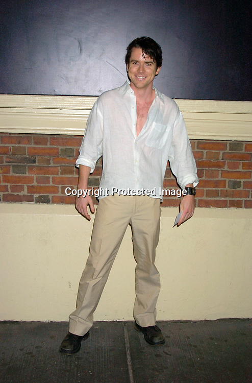 """Christian Campbell ..at the Broadway opening  of """" Dracula, The Musical"""" on ..August 19, 2004 at The Belasco Theatre in New York City...Photo by Robin Platzer, Twin Images"""