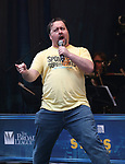 Brian Ray Norris performing at the United Airlines Presents: #StarsInTheAlley Produced By The Broadway League on June 1, 2018 in New York City.