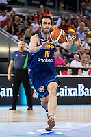 Spain's basketball player Fernando San Emeterio during the  match of the preparation for the Rio Olympic Game at Madrid Arena. July 23, 2016. (ALTERPHOTOS/BorjaB.Hojas) /NORTEPHOTO.COM