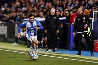 29th February 2020; Estadio Municipal de Butarque, Madrid, Spain; La Liga Football, Club Deportivo Leganes versus Deportivo Alaves; Oscar Rodriguez in action along the wing