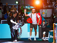 Rotterdam, The Netherlands, 11 Februari 2020, ABNAMRO World Tennis Tournament, Ahoy, <br /> Stefanos Tsitsipas (GRE).<br /> Photo: www.tennisimages.com
