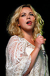 Charlotte Church performs on stage at the Cornbury Festival the Great Tew Park Oxfordshire United Kingdom on June 29, 2012 Picture By: Steph Teague / Retna Pictures.. ..-..