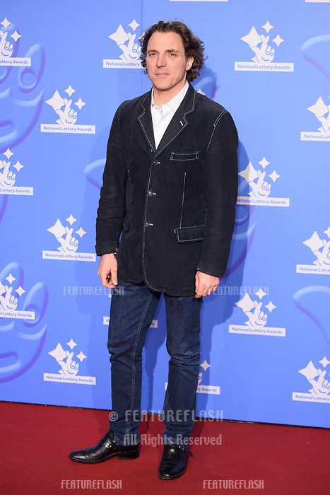 LONDON, UK. September 21, 2018: Alexander Newley at the National Lottery Awards 2018 at the BBC Television Centre, London.<br /> Picture: Steve Vas/Featureflash