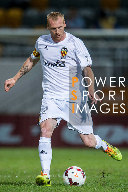 Jeremy Mathieu of Valencia CF in action LFP World Challenge 2014 between Valencia CF vs BC Rangers FC on May 28, 2014 at the Mongkok Stadium in Hong Kong, China. Photo by Victor Fraile / Power Sport Images