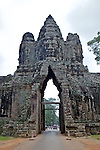 Victory Gate At Ankor