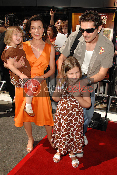 """Debi Mazar and family<br />at the world premiere of """"Kit Kittredge: An American Girl"""". The Grove, Los Angeles, CA. 06-14-08<br />Dave Edwards/DailyCeleb.com 818-249-4998"""