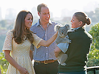 Kate, Duchess of Cambridge & Prince William visit Taronga zoo in Sidney - Australia