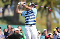 02/16/14 Pacific Palisades, CA: Bubba Watson shoots a 64 during the final round of the Northern Trust Open defeating Dustin Johnson by 2 strokes.