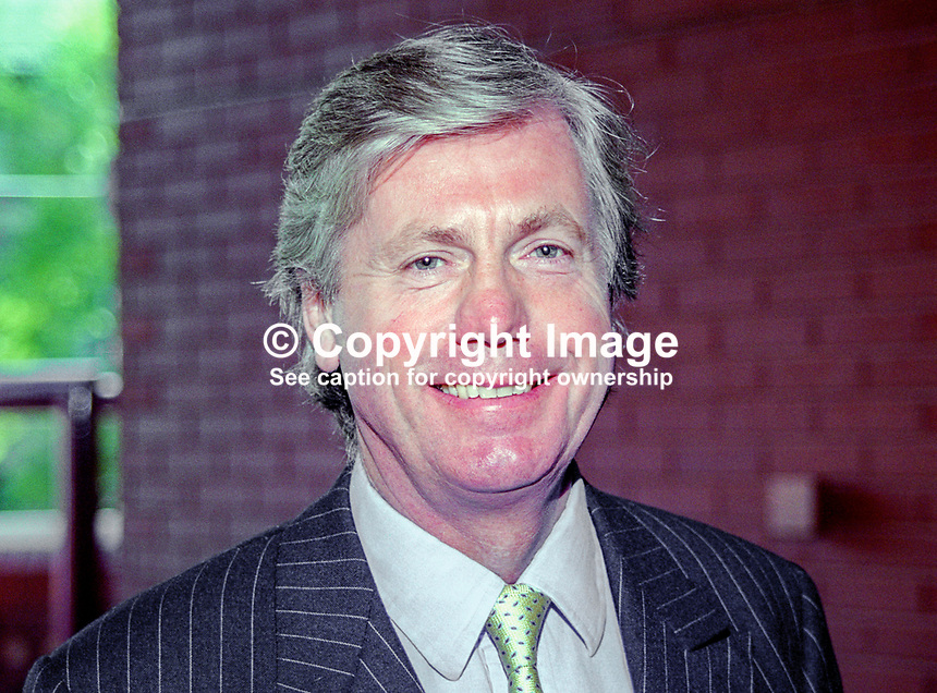 John Burnett, MP, Liberal Democrat, UK, annual conference, September 1999. 199909016<br />