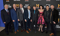"03 January 2019 - Los Angeles, California - Michael Harney, Neal McDonough, Robert Zemeckis, David O'Leary, Aidan Gillen, Laura Mennell, Michael Malarkey, Sean Jablonski. ""Project Blue Book"" History Scripted Series Los Angeles Premiere held at Simon House. Photo Credit: AdMedia"