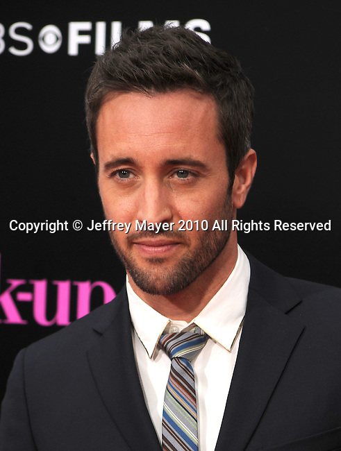 """WESTWOOD, CA. - April 21: Alex O'Loughlin attends the """"The Back-Up Plan"""" Los Angeles Premiere at Regency Village Theatre on April 21, 2010 in Westwood, California."""
