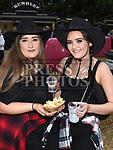Chanice Roche and Maran Courtney at the Big Country night in Cushinstown Athletic Club in aid of the Oncology Unit at Our Lady of Lourdes Hospital. Photo:Colin Bell/pressphotos.ie