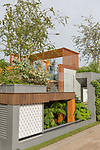 City Living. Designed by: Kate Gould. Sponsored by: Kate Gould Gardens. RHS Chelsea Flower Show 2017. Stand no. Fresh Garden 72