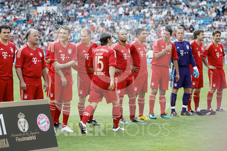 'Corzaon Classic, All for Africa'; friendly match Real Madrid vs Bayern Munchen veterans...Photo: Cesar Cebolla / ALFAQUI