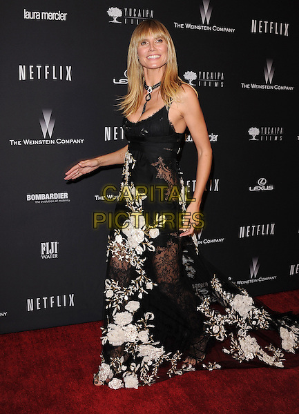 Heidi Klum<br />  attends THE WEINSTEIN COMPANY &amp; NETFLIX 2014 GOLDEN GLOBES AFTER-PARTY held at The Beverly Hilton Hotel in Beverly Hills, California on January 12,2014                                                                               <br /> CAP/DVS<br /> &copy;DVS/Capital Pictures
