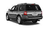 Car pictures of rear three quarter view of a 2017 Ford Expedition XLT 5 Door SUV Angular Rear