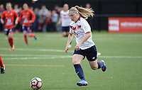 20170514 - LILLE , FRANCE : LOSC's Jana Coryn pictured in action  during the 21 st competition game between the women teams of Lille OSC and La Roche Sur Yon in the 2016-2017 season of the Second Division A D2F A at stade Lille Metropole , Saturday 14th May 2017 ,  PHOTO Joke Vuylsteke | Sportpix.Be