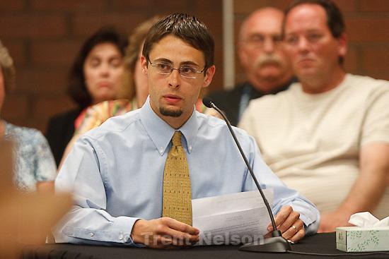 Trent Nelson  |  The Salt Lake Tribune.Draper - Commutation hearing for death-row inmate Ronnie Lee Gardner Thursday, June 10, 2010, at the Utah State Prison. jason otterstrom