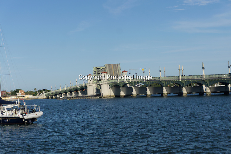 Drawbridge at St. Augustine, Florida