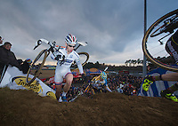 current World Cup leader Lars van der Haar (NLD)<br /> <br /> UCI Worldcup Heusden-Zolder Limburg 2013