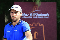 Romain Langasque (FRA) during the first round of the Ras Al Khaimah Challenge Tour Grand Final played at Al Hamra Golf Club, Ras Al Khaimah, UAE. 31/10/2018<br />