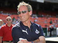 Washington Freedom Head  Coach Jim Gabarra.  Washington Freedom defeated Skyblue FC 2-1 at RFK Stadium, Saturday May 23, 2009.