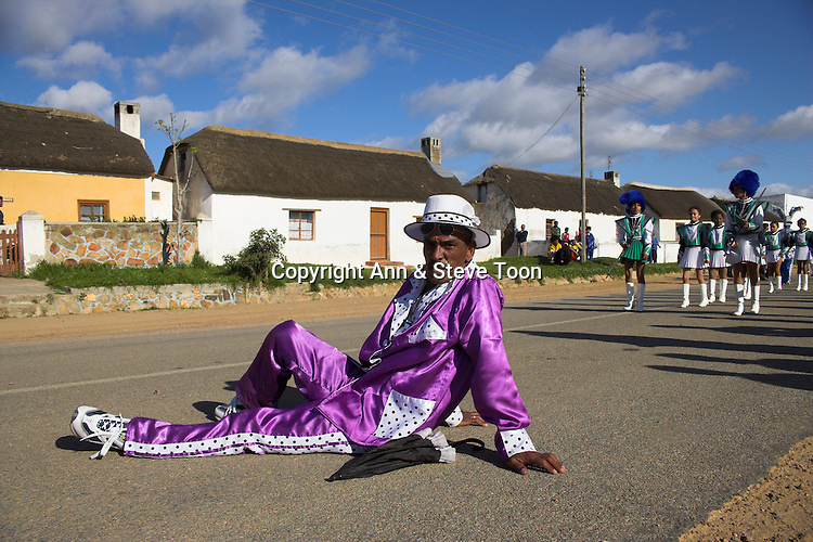 Street carnival character, Elim, Western Cape, South Africa