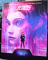 """LOS ANGELES - MAR 26:  Ready Player One Poster - Art3mis at the """"Ready Player One"""" Premiere at TCL Chinese Theater IMAX on March 26, 2018 in Los Angeles, CA"""