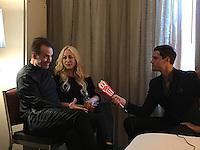"Jennifer Blanc-Biehn, Michael Biehn<br /> at the ""Aliens"" 30th Anniversary Reunion at San Diego Comic-Con, San Diego, CA 07-23-16<br /> David Edwards/Dailyceleb.com 818-249-4998"