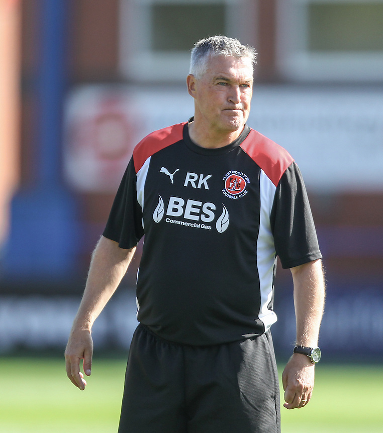 Fleetwood Town's assistant head coach Rob Kelly<br /> <br /> Photographer Alex Dodd/CameraSport<br /> <br /> The EFL Sky Bet League One - Rochdale v Fleetwood Town - Saturday 17th September 2016 - Spotland - Rochdale<br /> <br /> World Copyright &copy; 2016 CameraSport. All rights reserved. 43 Linden Ave. Countesthorpe. Leicester. England. LE8 5PG - Tel: +44 (0) 116 277 4147 - admin@camerasport.com - www.camerasport.com