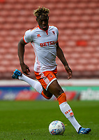 Blackpool's Armand Gnanduillet in action<br /> <br /> Photographer Alex Dodd/CameraSport<br /> <br /> The EFL Sky Bet League One - Barnsley v Blackpool - Saturday 27th April 2019 - Oakwell - Barnsley<br /> <br /> World Copyright © 2019 CameraSport. All rights reserved. 43 Linden Ave. Countesthorpe. Leicester. England. LE8 5PG - Tel: +44 (0) 116 277 4147 - admin@camerasport.com - www.camerasport.com