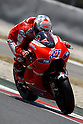 July 3, 2010 - Catalunya, Spain - Australian rider Casey Stoner powers his Ducati during the Catalunya Grand Prix, Spain, on July 3, 2010. (photo Andrew Northcott/Nippon News)