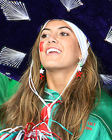 A Mexican fan. Mexico and Angola played to a 0-0 tie in their FIFA World Cup Group D match at FIFA World Cup Stadium, Hanover, Germany, June 16, 2006.