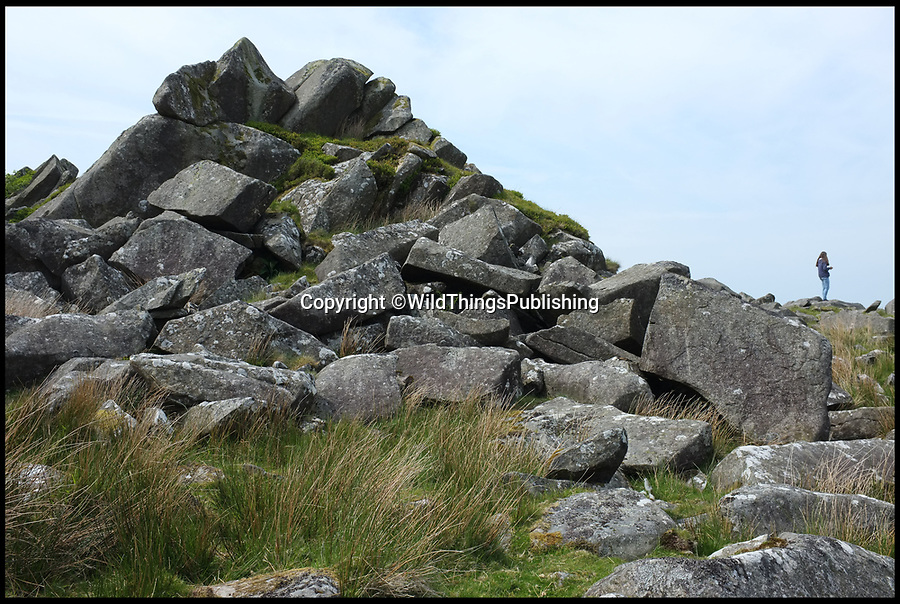BNPS.co.uk (01202 558833)<br /> Pic: WildThings/BNPS<br /> <br /> Stone Henge quarry, Pembrokeshire.<br /> <br /> Walk back in Time - new travel book reveals Britain's ancient places.<br /> <br /> An explorer has travelled the length and breadth of Britain to document over 400 mysterious little known ancient sites.<br /> <br /> Dave Hamilton ventured off the beaten track to uncover wild ruins which have stood for between 2,000 and 10,000 years.<br /> <br /> He avoided famous sites like Stonehenge, instead focusing on little-known lost ruins scattered across the country.<br /> <br /> His travels saw him encounter sacred tombs and caves, stone circles, Bronze Age brochs and Iron Age hillforts.