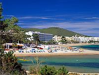 Spanien, Balearen, Ibiza (Eivissa): Santa Eularia d'Es Riu an der Ostkueste | Spain, Balearic Islands, Ibiza (Eivissa): Santa Eularia d'Es Riu