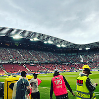 Unwetter in Klagenfurt - 02.06.2018: Österreich vs. Deutschland, Wörthersee Stadion in Klagenfurt am Wörthersee, Freundschaftsspiel WM-Vorbereitung